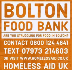 Homeless Aid UK Food Bank